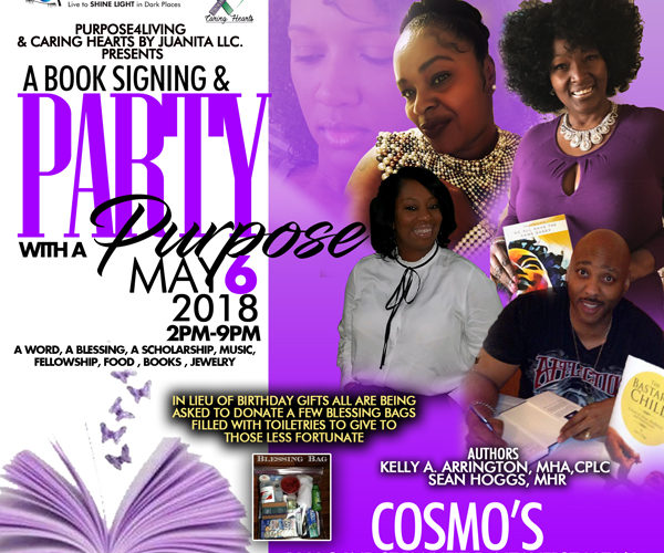 Book Signing and Party w/A Purpose​ – NJ